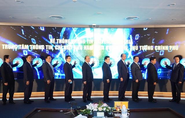 Thủ tướng bấm nút khai trương hệ thống thông tin báo cáo quốc gia - 3