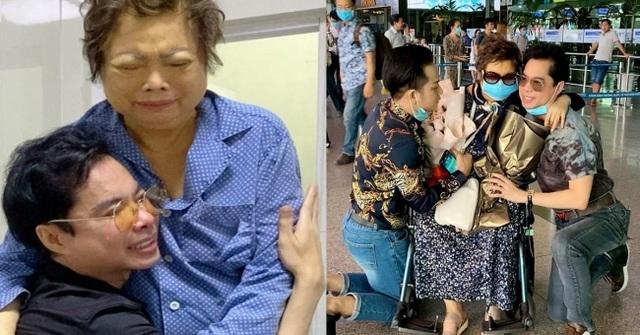 Mẹ Ngọc Sơn vượt bạo bệnh sau khi được đưa từ Mỹ về nước cách ly điều trị - 2