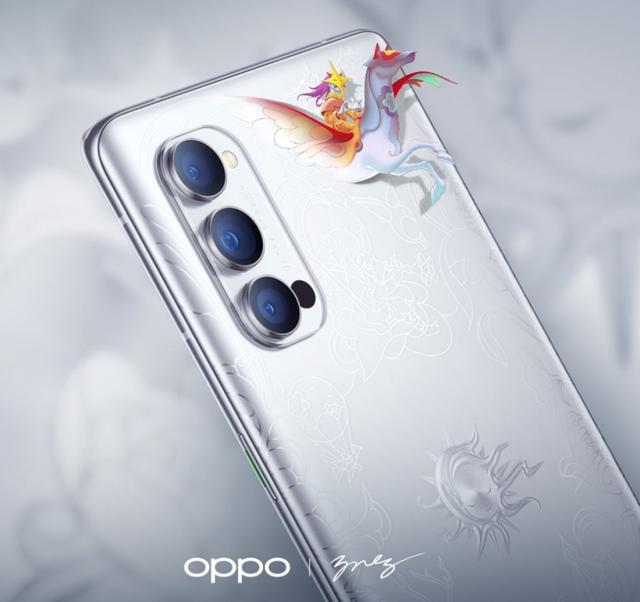 Oppo ra mắt Reno4 Pro phiên bản giới hạn, mặt lưng được họa sĩ vẽ tay - 1