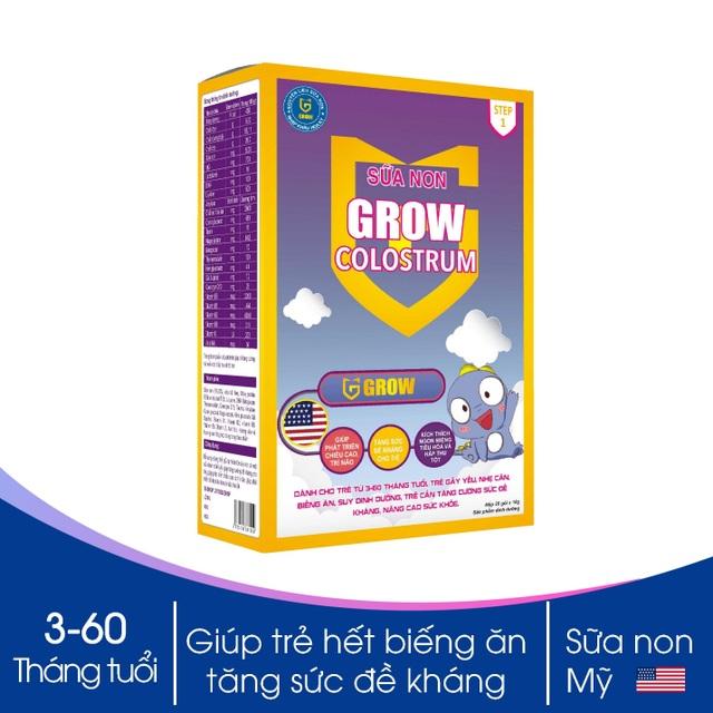 Sữa non Grow colostrum: giúp trẻ tăng cân và tăng cường miễn dịch - 1
