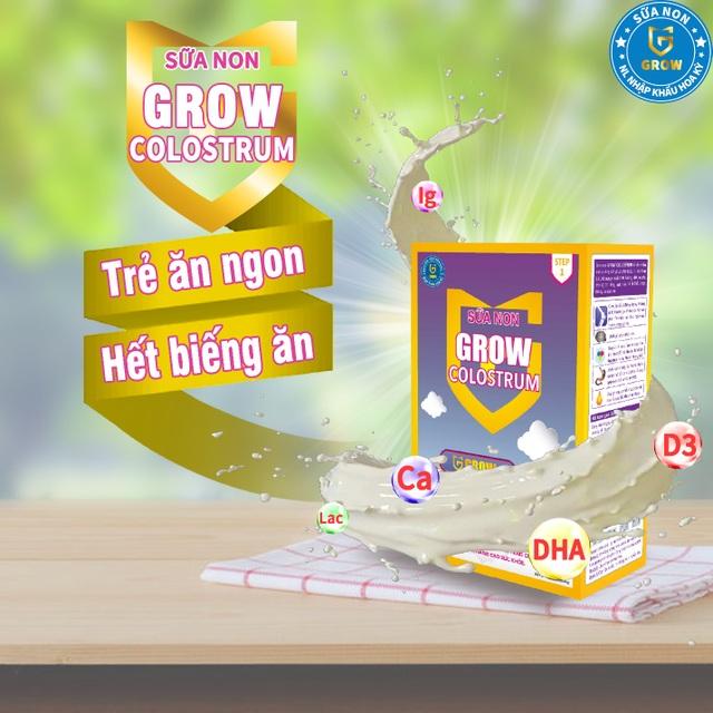 Sữa non Grow colostrum: giúp trẻ tăng cân và tăng cường miễn dịch - 2