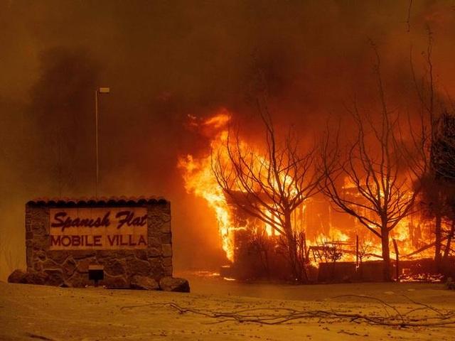 Cháy rừng kinh hoàng đe dọa California - 4