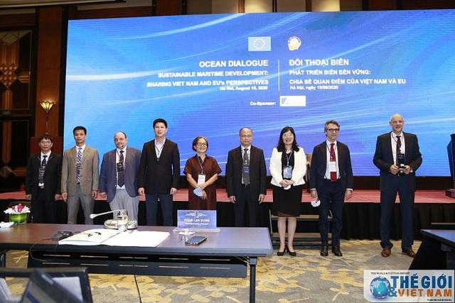 Đối thoại biển Phát triển biển bền vững: Chia sẻ quan điểm của Việt Nam và EU - 3