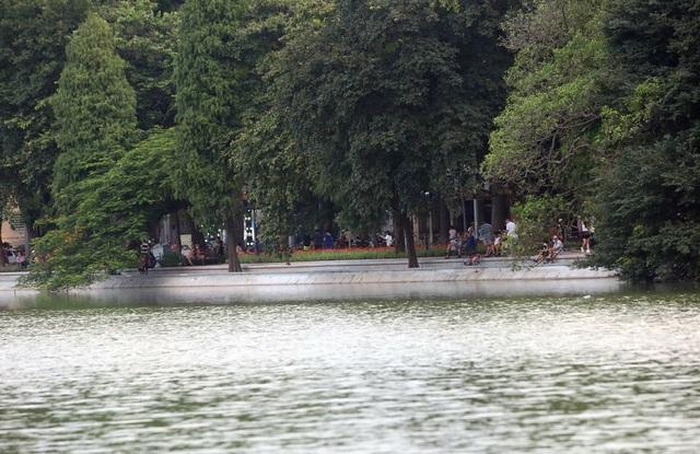 Gần 1.500 khối bê tông tạo vòng khép kín quanh hồ Hoàn Kiếm - 10