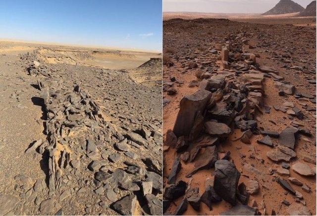 Bí ẩn các di tích bằng đá nghìn năm tuổi ở Ả Rập Saudi - 1
