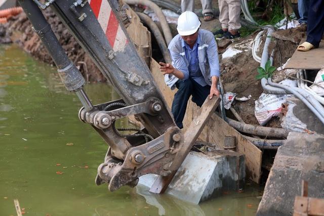 Gần 1.500 khối bê tông tạo vòng khép kín quanh hồ Hoàn Kiếm - 5
