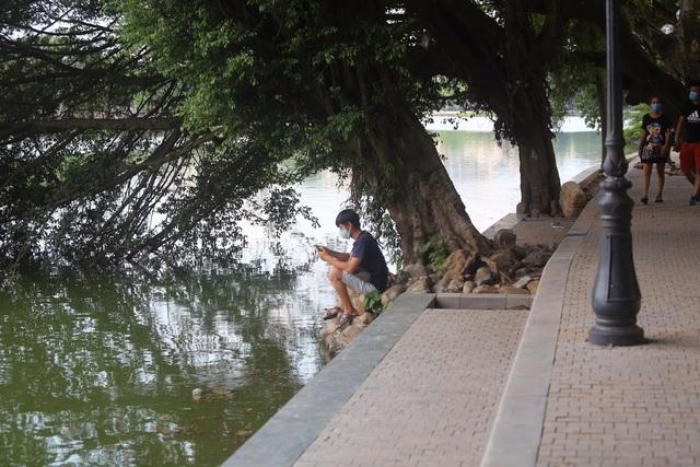 Gần 1.500 khối bê tông tạo vòng khép kín quanh hồ Hoàn Kiếm - 8
