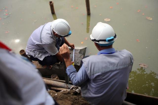 Gần 1.500 khối bê tông tạo vòng khép kín quanh hồ Hoàn Kiếm - 4