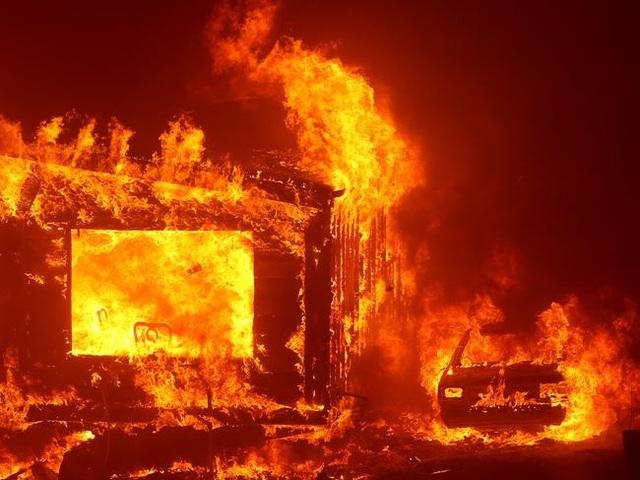 Cháy rừng kinh hoàng đe dọa California - 5