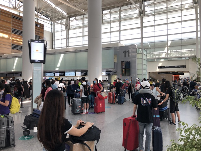 Chuyến bay đưa hơn 340 công dân Việt Nam từ Mỹ về nước an toàn - 1