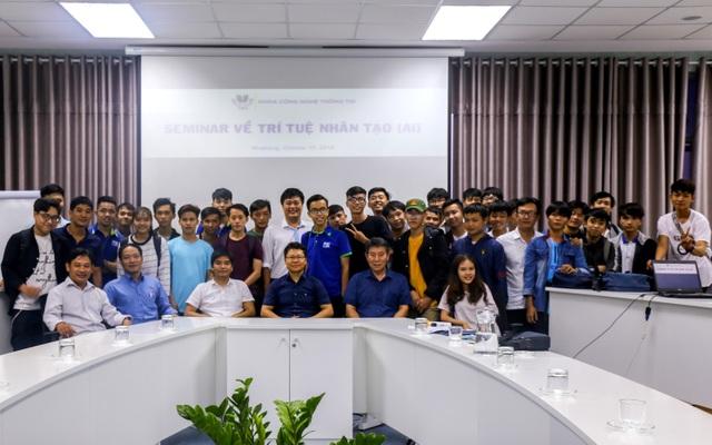 Sinh viên ngành CNTT Đại học Thái Bình Dương học tập trong mô hình IT Space - 2