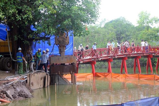 Gần 1.500 khối bê tông tạo vòng khép kín quanh hồ Hoàn Kiếm - 2