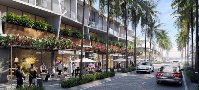 Nhà phố thương mại biển thu hút giới đầu tư - 1