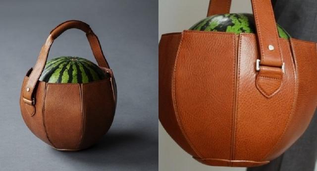 Túi xách sang trọng được thiết kế chuyên để... đựng dưa hấu - 1