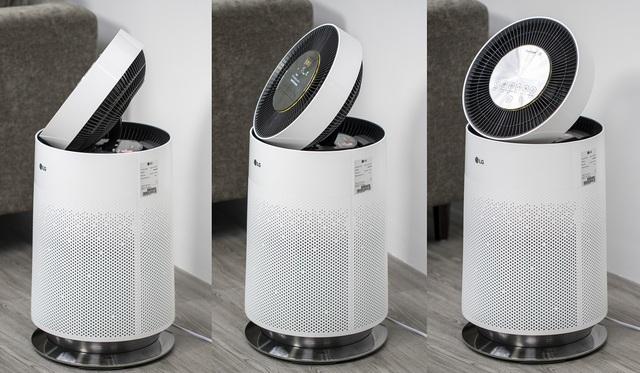 LG PuriCare - Máy lọc không khí thân thiện với trẻ em, giá 28,8 triệu - 5