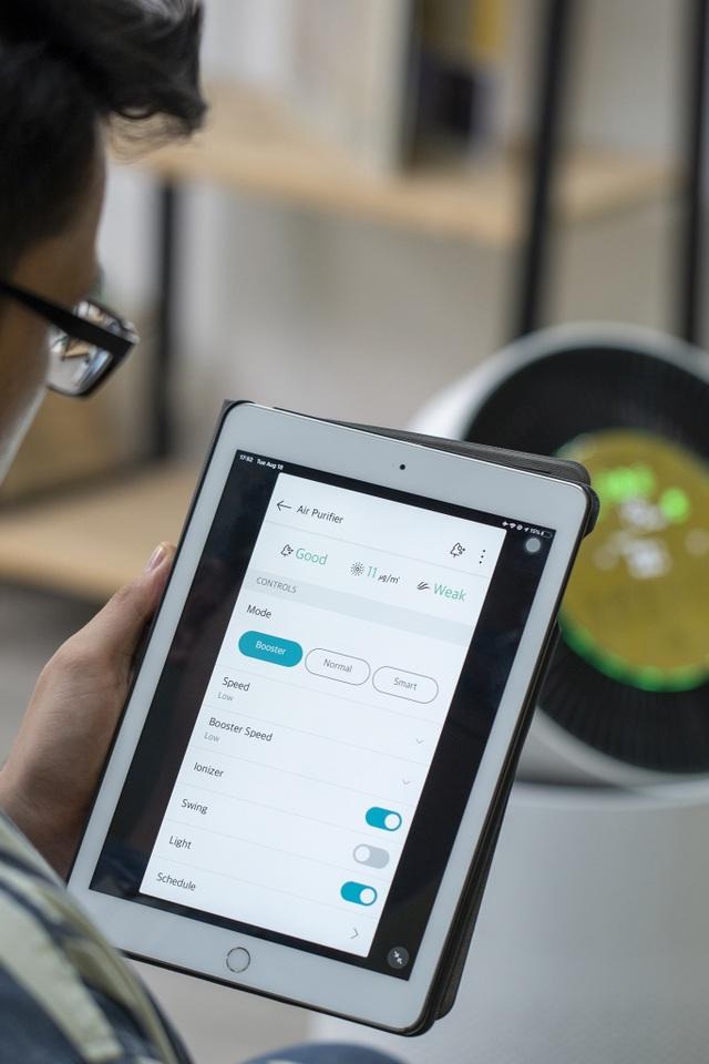LG PuriCare - Máy lọc không khí thân thiện với trẻ em, giá 28,8 triệu - 7