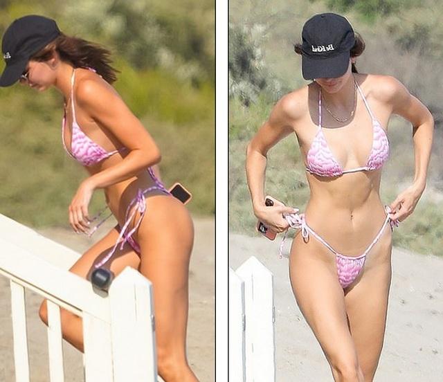 Kendall Jenner diện bikini gợi cảm - 1
