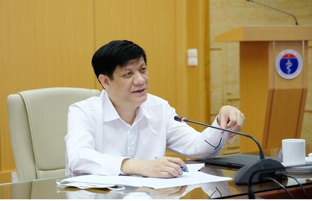 Quyền Bộ trưởng Y tế: Các ổ dịch Covid-19 đang được kiểm soát - 1