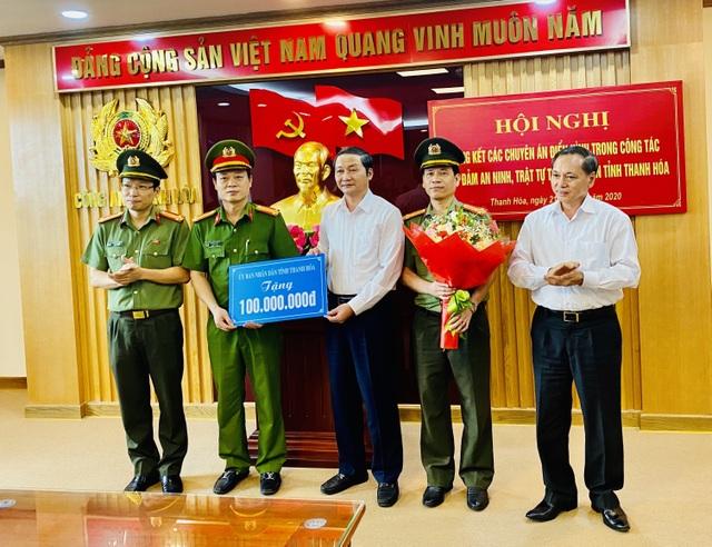 Khen thưởng lực lượng phá án 2 vụ cưỡng đoạt tiền tỉ của lãnh đạo huyện - 1