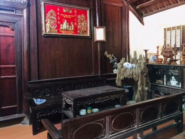 Nhà gỗ trăm tuổi giữa sân vườn xanh mát đẹp hiếm có ở ngoại thành Hà Nội - 5