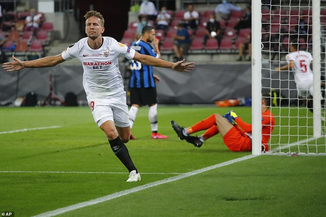 Những khoảnh khắc nghẹt thở trong chiến thắng của Sevilla trước Inter Milan - 12