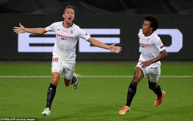 Những khoảnh khắc nghẹt thở trong chiến thắng của Sevilla trước Inter Milan - 7