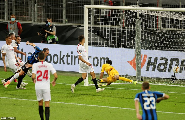 Những khoảnh khắc nghẹt thở trong chiến thắng của Sevilla trước Inter Milan - 14