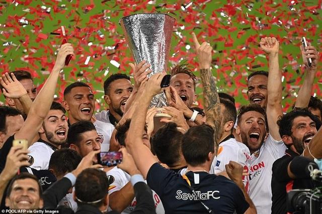 Những khoảnh khắc nghẹt thở trong chiến thắng của Sevilla trước Inter Milan - 26