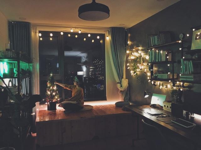 """""""Nhẵn túi"""" sau mua nhà, vợ chồng trẻ tự làm nội thất đẹp như thuê thiết kế - 1"""