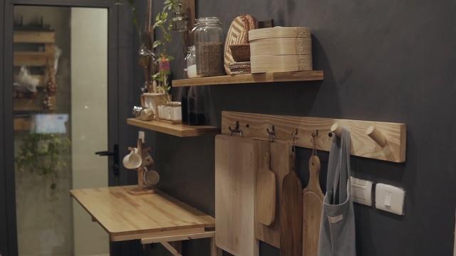 """""""Nhẵn túi"""" sau mua nhà, vợ chồng trẻ tự làm nội thất đẹp như thuê thiết kế - 6"""