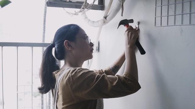 """""""Nhẵn túi"""" sau mua nhà, vợ chồng trẻ tự làm nội thất đẹp như thuê thiết kế - 4"""