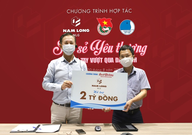 Nam Long chi hơn 5 tỷ đồng cho chiến dịch tiếp sức vượt Covid-19 - 2