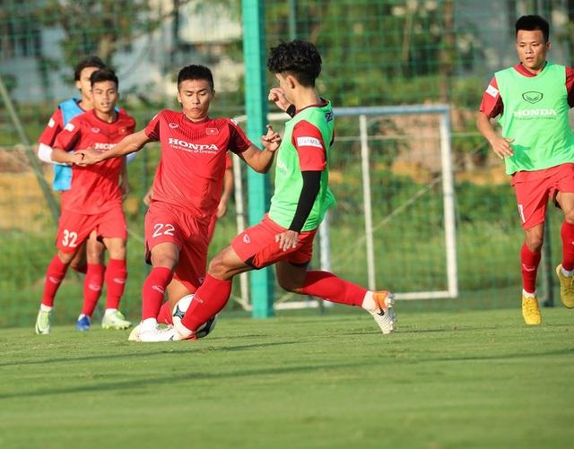 Vì sao U22 Việt Nam không đá tập với U19 Việt Nam? - 1
