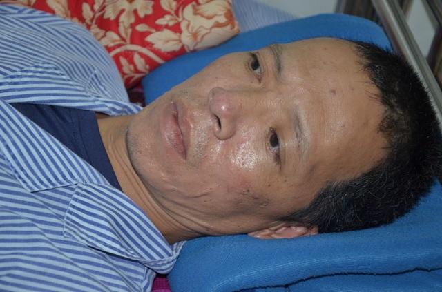 Thương cảnh người cha 2 con, chấn thương sọ não không tiền chữa trị - 1