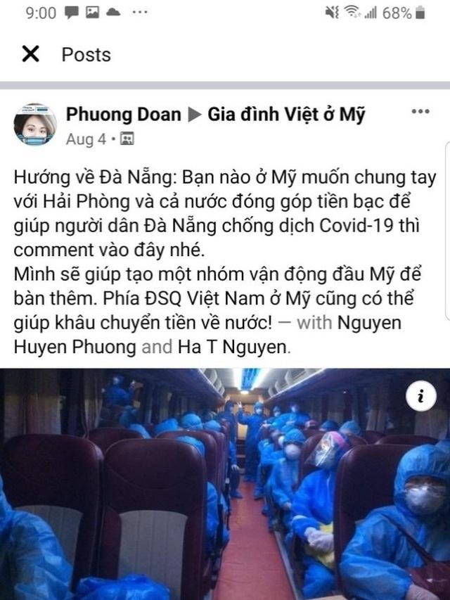 """Cộng đồng người Việt khắp thế giới """"Chung tay vì Việt Nam"""" đẩy lùi Covid-19 - 1"""