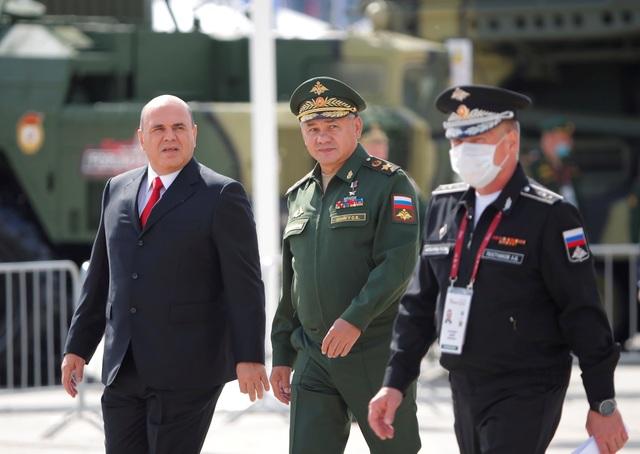 Chùm ảnh lễ khai mạc Diễn đàn và Hội thao quân sự quốc tế tại Nga - 1