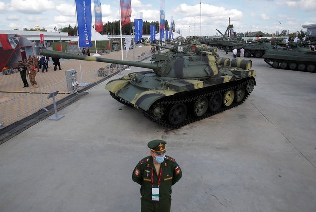 Chùm ảnh lễ khai mạc Diễn đàn và Hội thao quân sự quốc tế tại Nga - 6