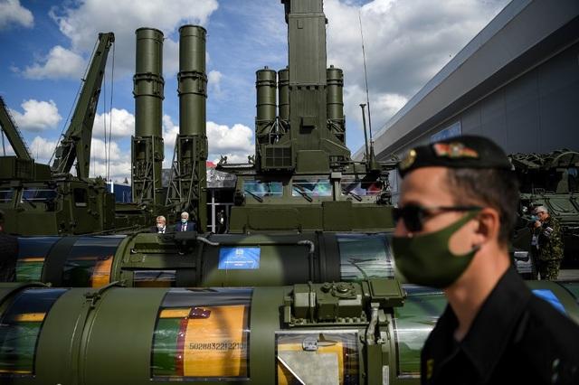 Chùm ảnh lễ khai mạc Diễn đàn và Hội thao quân sự quốc tế tại Nga - 13