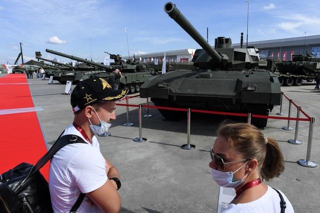 Chùm ảnh lễ khai mạc Diễn đàn và Hội thao quân sự quốc tế tại Nga - 12