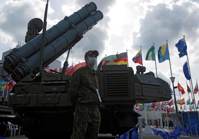 Chùm ảnh lễ khai mạc Diễn đàn và Hội thao quân sự quốc tế tại Nga - 11