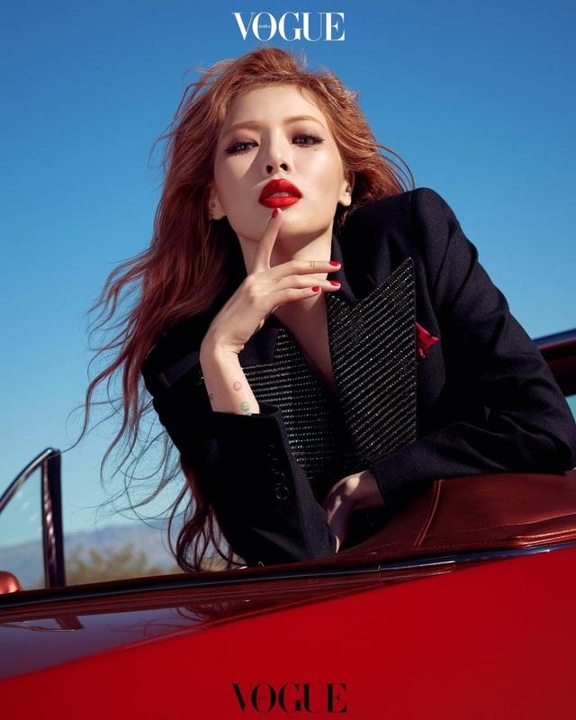 """""""Biểu tượng gợi cảm xứ Hàn"""" Hyuna tuyên bố tạm ngừng hoạt động - 5"""