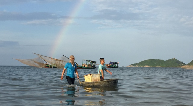 Hà Tĩnh: Ngư dân trúng mùa ruốc biển - 3