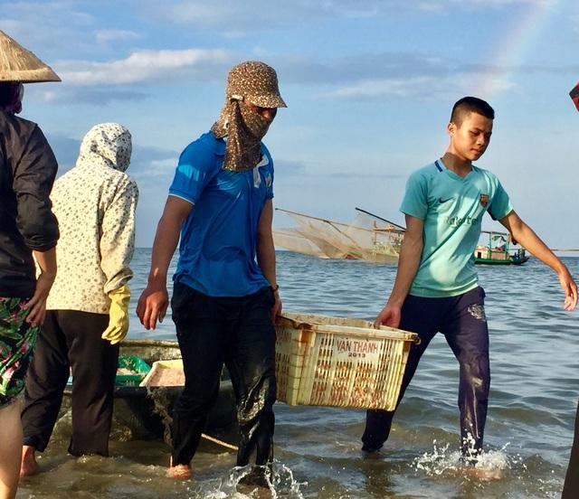 Hà Tĩnh: Ngư dân trúng mùa ruốc biển - 4