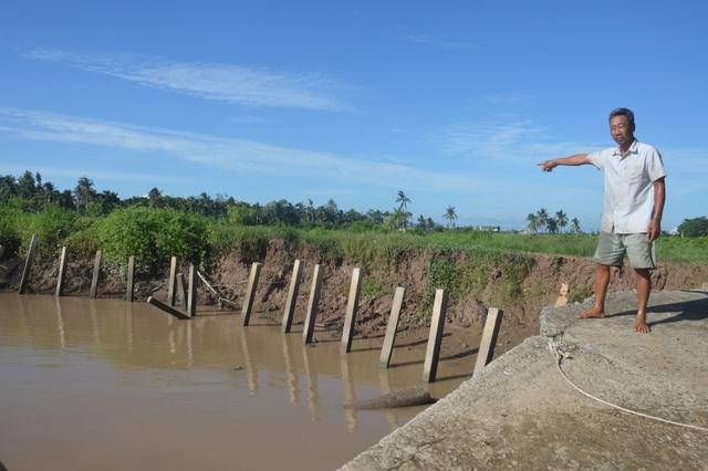 Người dân hoang mang tố thủ phạm gây sạt lở nghiêm trọng hai bờ sông Hậu - 6