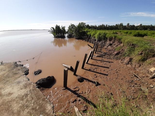 Người dân hoang mang tố thủ phạm gây sạt lở nghiêm trọng hai bờ sông Hậu - 7