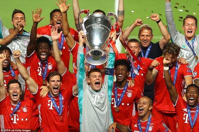 Bayern Munich lập kỷ lục trong ngày đăng quang ở Champions League - 6