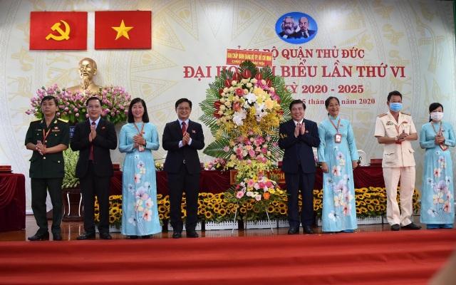 TPHCM: Ông Nguyễn Mạnh Cường tái đắc cử Bí thư quận Thủ Đức - 1