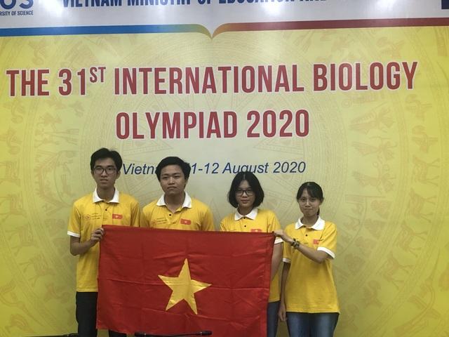 Olympic Sinh học quốc tế 2020: 4/4 học sinh Việt Nam đoạt giải - 1