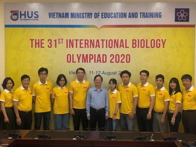 Olympic Sinh học quốc tế 2020: 4/4 học sinh Việt Nam đoạt giải
