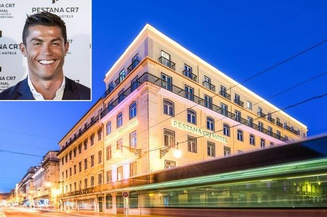 Mở thêm khách sạn, C.Ronaldo cạnh tranh trực tiếp với Ryan Giggs - 1